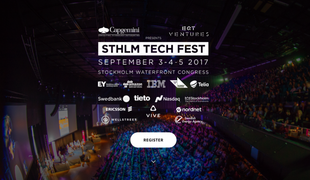 0ff174deab590f Watch our CEO and Founder Jonas speak at Stockholm Tech Fest! 4 Sept ...